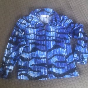 Chico's zippered light jacket